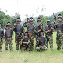 Bale Bambu Adventure Paintball Ciwidey